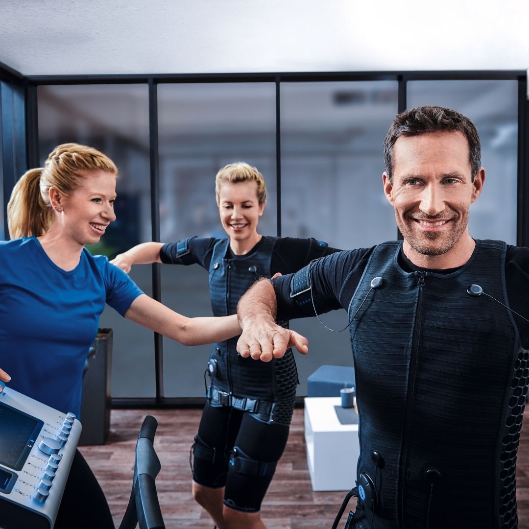 EMS Fitness Training with BODY TIME Personal Training for weight loss