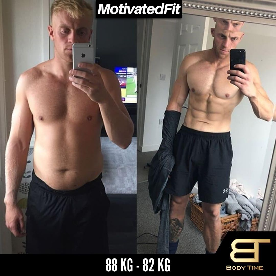 Alfred Weight Loss Results Body Time EMS Fitness