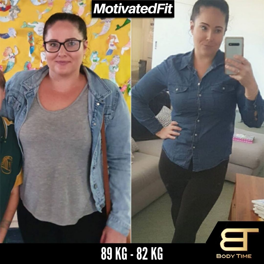 Beatrice Weight Loss Results Body Time EMS Fitness