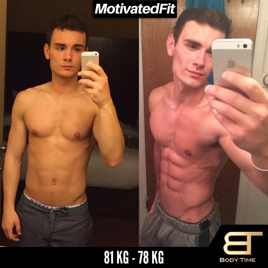 Freddy Weight Loss Results Body Time EMS Fitness