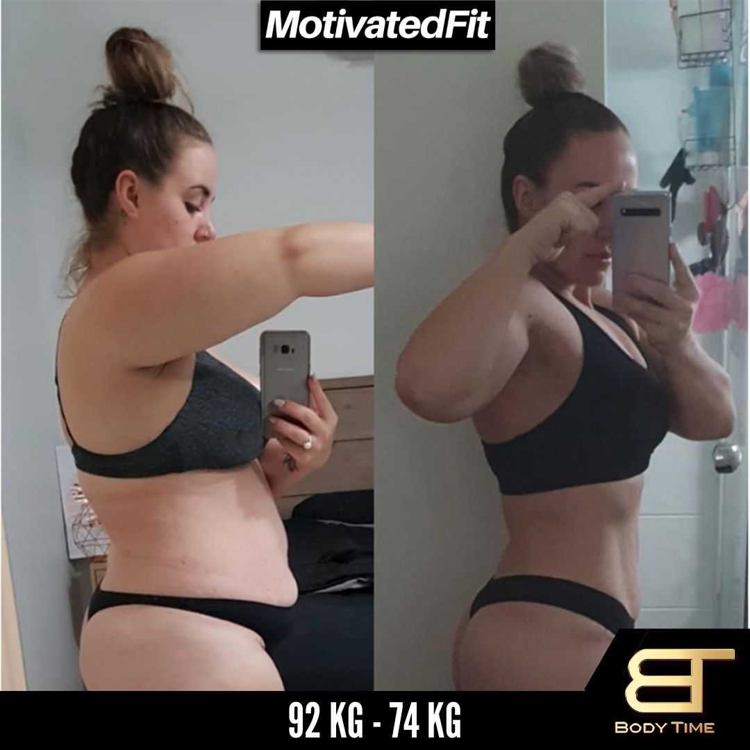 Karolin Weight Loss Results Body Time EMS Fitness