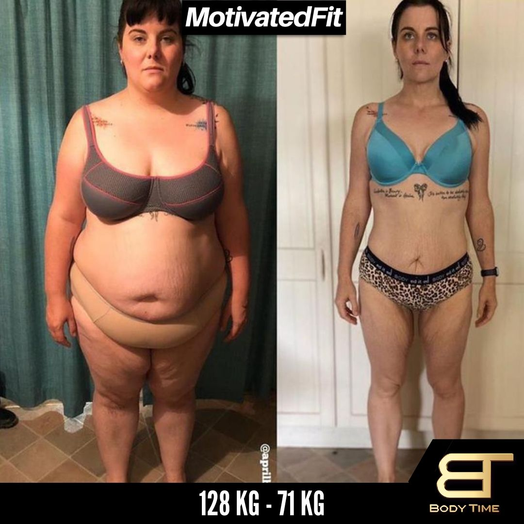 Nancy Weight Loss Results Body Time EMS Fitness