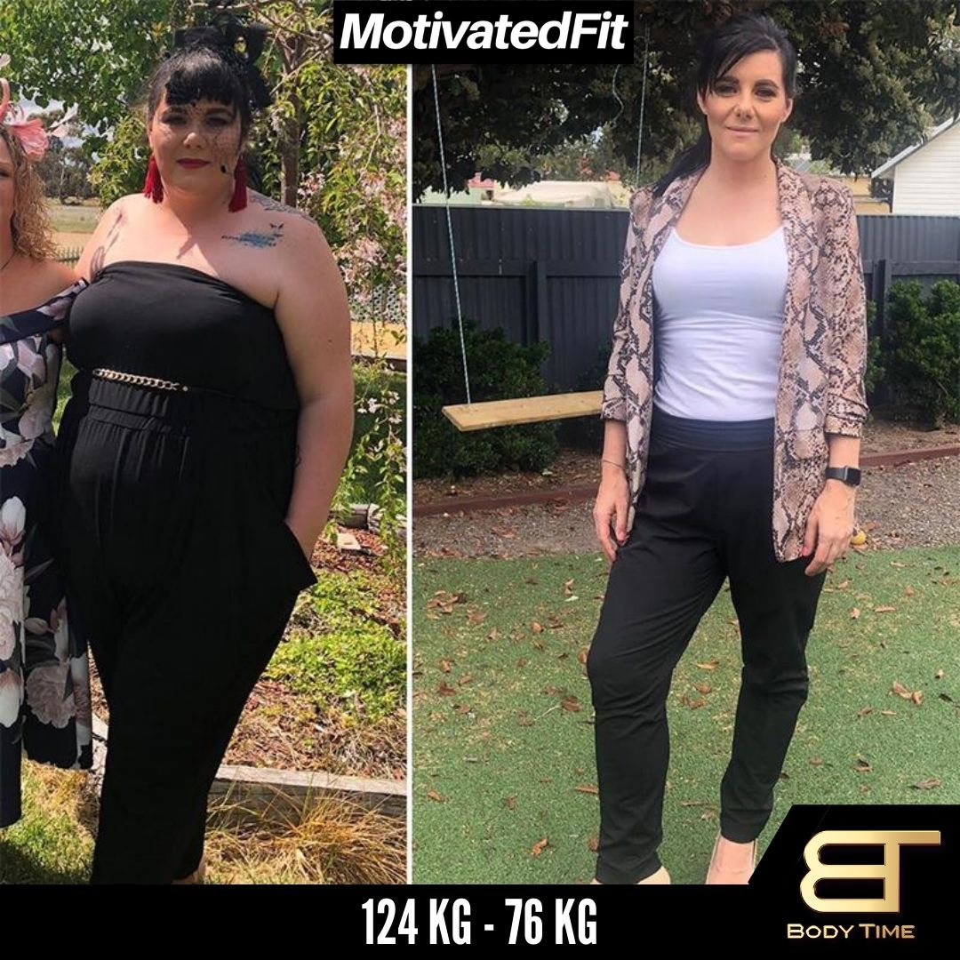 Naomi Weight Loss Results Body Time EMS Fitness