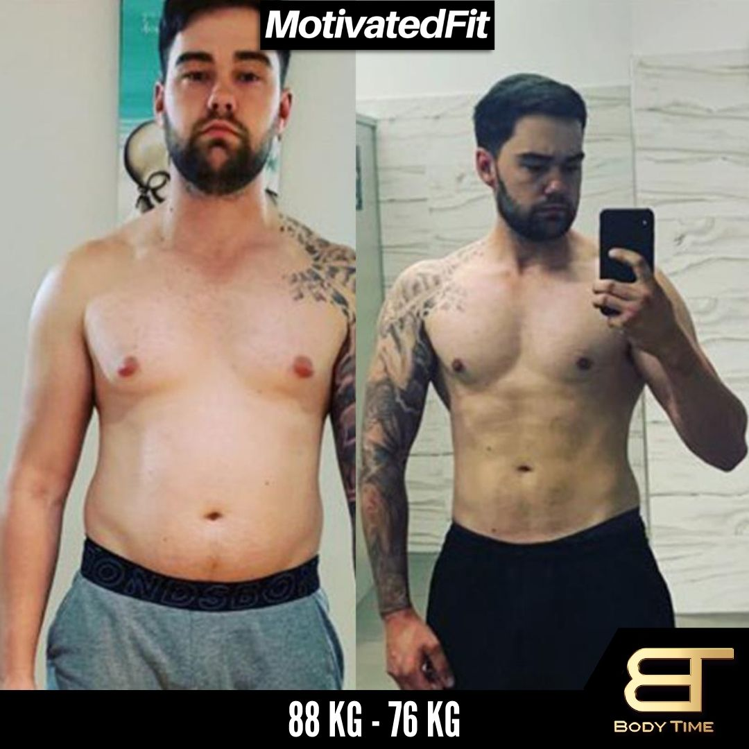 Steve Weight Loss Results Body Time EMS Fitness